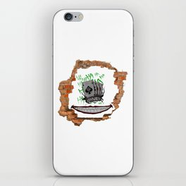 Smile at the Wall iPhone Skin