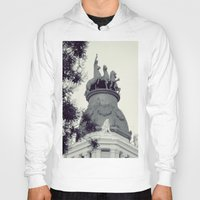 madrid Hoodies featuring Madrid by Valkyries