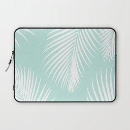 Mint Tropical Pattern Laptop Sleeve