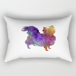 Chihuahua 02 in watercolor Rectangular Pillow