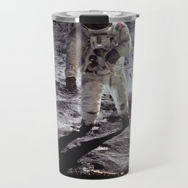 Apollo 11 - Buzz Aldrin On The Moon Travel Mug