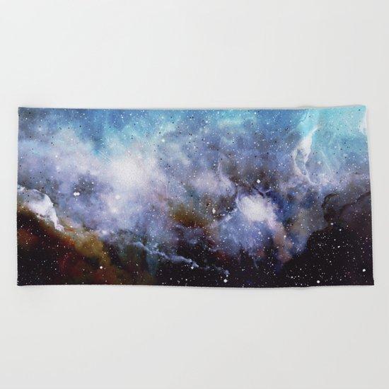 Over the Stars Beach Towel