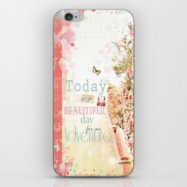 Beautiful Day for an Adventure iPhone Skin