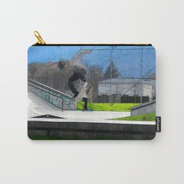 Skateboarding Fool Carry-All Pouch