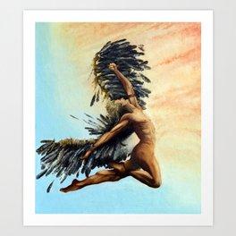 Season of the Legend - Icarus Descending Art Print