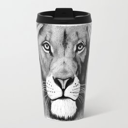 Lion face Travel Mug