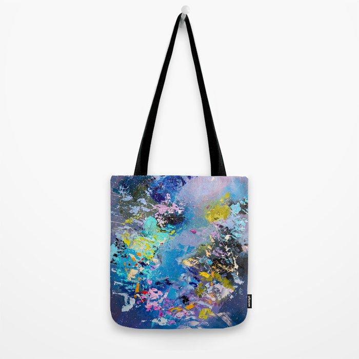 Strangers in space Tote Bag