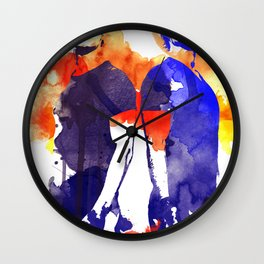 The Salvatore Brothers Wall Clock
