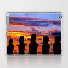 TOUCHED BY FIRE Laptop & iPad Skin