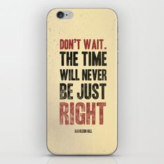 Don't wait iPhone & iPod Skin