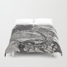 A Crowning Achievement Duvet Cover