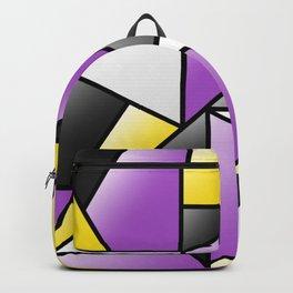 NB (pattern) Backpack