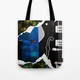 Music Triptych: Guitar Tote Bag
