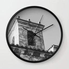 Catholic Relic Wall Clock