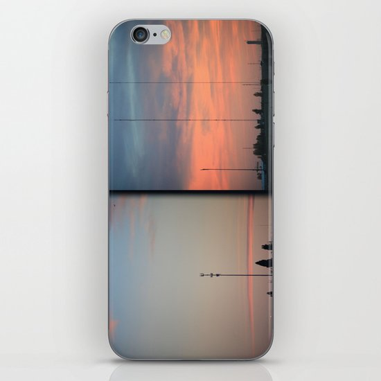 In The Plains (Planes) Field iPhone & iPod Skin