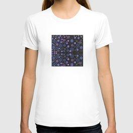 Christmas Snowflakes at Night T-shirt