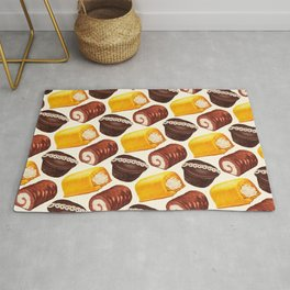 Hostess Cake Pattern Rug