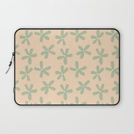 Green & Pink Floral Laptop Sleeve