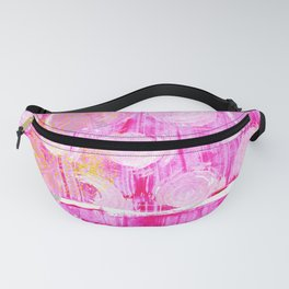 Luminosity of cerise Fanny Pack