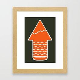 TAKE A H/KE Framed Art Print