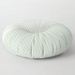Color Block Lines XXIX Floor Pillow
