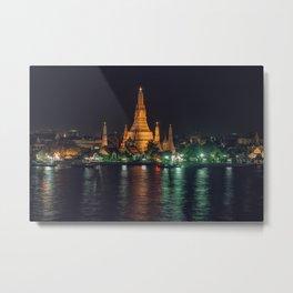 Wat Arun Metal Print