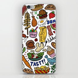 Foodies iPhone Skin