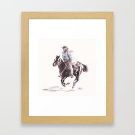 Bushranger Johnny Gilbert Framed Art Print