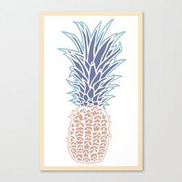 one mo' pineapple two-tone (2) Canvas Print