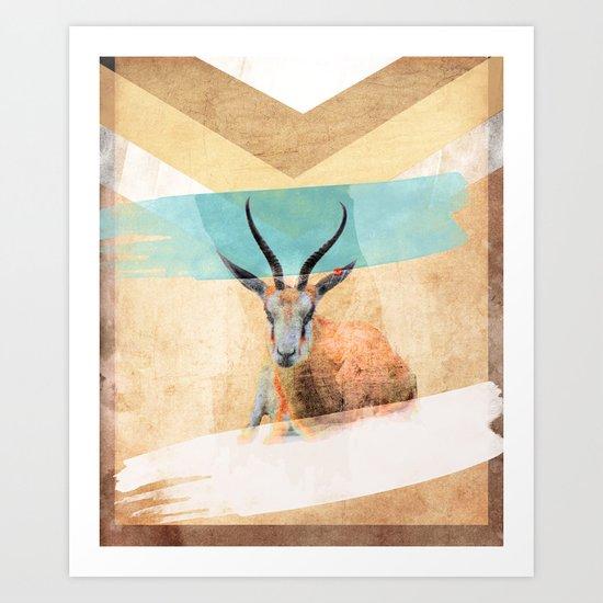 The Mirage Art Print