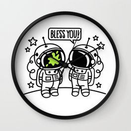 Bless you! Wall Clock
