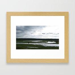 The Assiniboine Framed Art Print