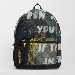 Subtraction Backpack