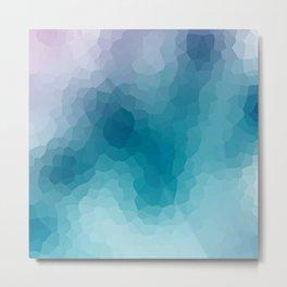 "Abstract pattern "" Amethyst "". Metal Print"