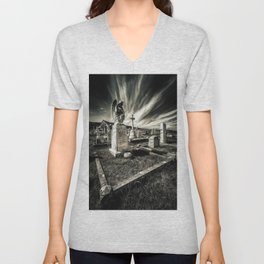 Great Orme Graveyard Unisex V-Neck