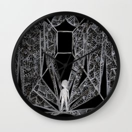 In your shadow Wall Clock