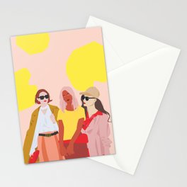 Gal Girl Gang Stationery Cards