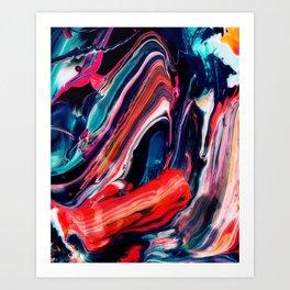 Ache Art Print