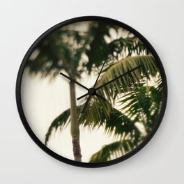 Cloudy with a Chance of Rain Wall Clock