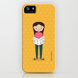 Journalism Lover iPhone Case