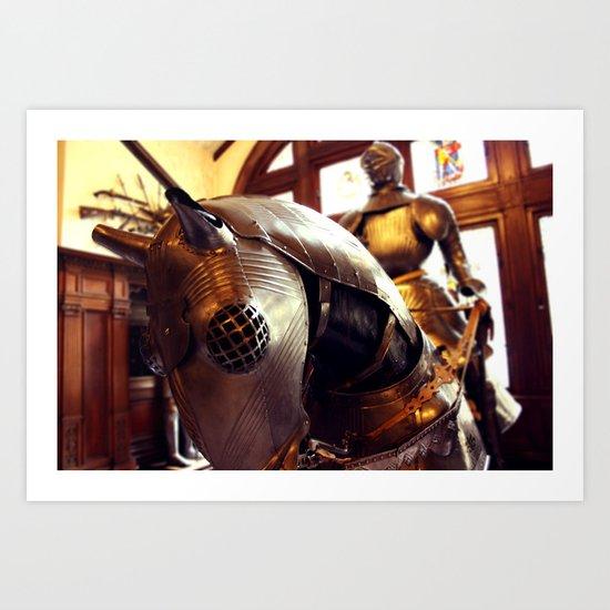 Maximilian Armour Art Print