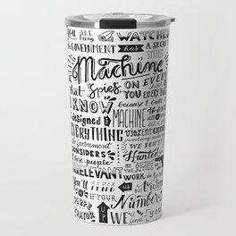 The Machine | Person of Interest Travel Mug