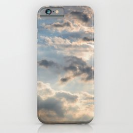 Among the Clouds - Sky Photography by Fluid Nature iPhone Case