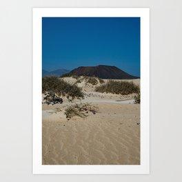 Parque Natural Corralejo Art Print