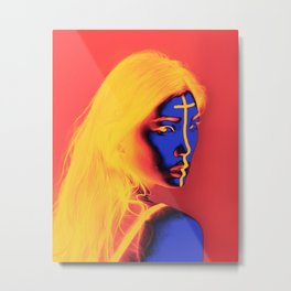 Zina Metal Print