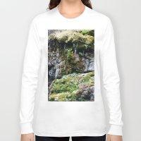moss Long Sleeve T-shirts featuring Moss by Infra_milk
