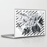 sketch Laptop & iPad Skins featuring Sketch by Cat Sims