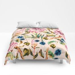 Pattern boho floral Comforters