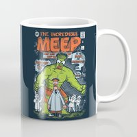 muppet Mugs featuring Incredible Meep by Hoborobo