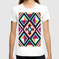 quilt T-shirts featuring Quilt Pattern by k_c_s